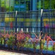 Panel 2D Zn+PVC 1430mm antracit
