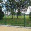 Panel 2D Zn+PVC 630mm zelený